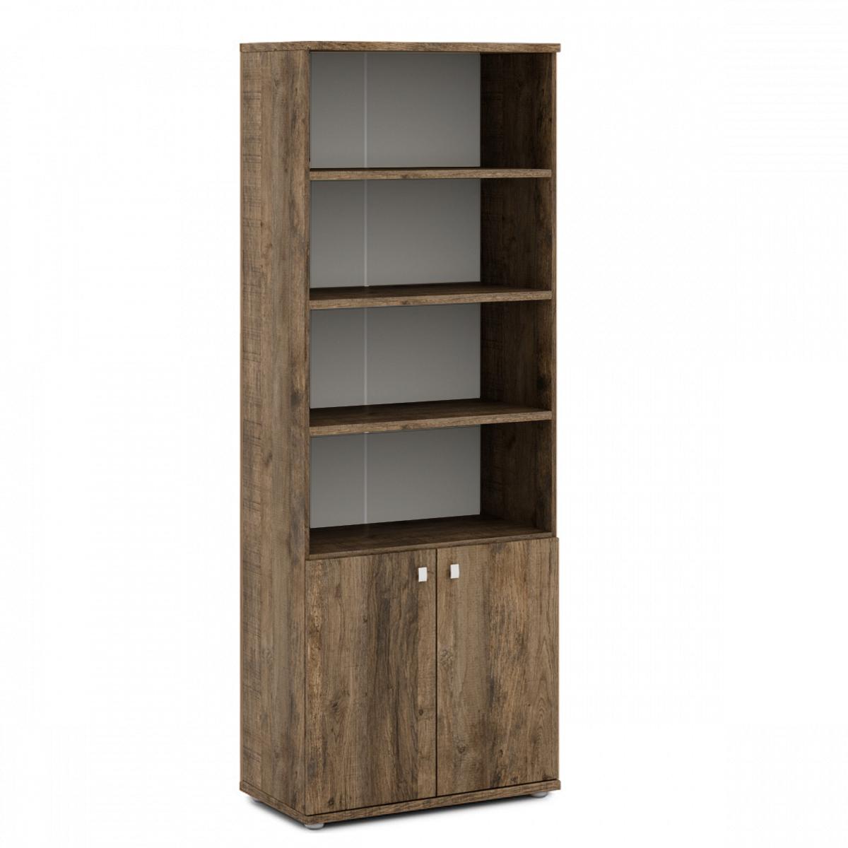 Шкаф полуоткрытый  V-604 Орех Вирджиния