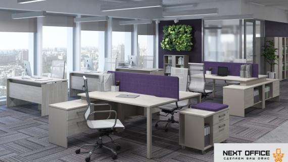На нашем сайте появилась новая коллекция офисной мебели Solution, созданная специально для ценителей элегантных цветовых решений!